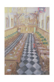Royal Hospital Chelsea, 1996 Giclee Print by Sophia Elliot