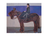This Horse Doesn't Move, 2010 Giclee Print by Piers Ottey