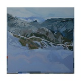 Ice Cold Mountain, 2010 Giclee Print by Piers Ottey