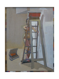 Ladder, 20011 Giclee Print by Piers Ottey
