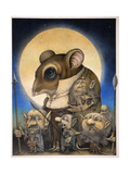 The Moon Rose Giclee Print by Wayne Anderson