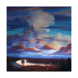 Big Sky 2012 Giclee Print by Lee Campbell