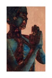 Indian Prayer Giclee Print by Graham Dean