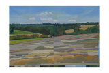Madehurst, Post Harvest, 2011 Giclee Print by Piers Ottey