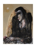 The Contemplation of Eve, 2011 Giclee Print by Chris Gollon