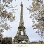 Tour Eiffel au Printemps Posters by Alan Blaustein