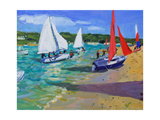 Sailing Boats Giclee Print by Andrew Macara