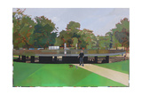 Audrey in Kensington Gardens, 2013 Giclee Print by Piers Ottey