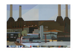 The Four Chimneys, 2012 Giclee Print by Piers Ottey