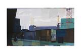 Tartan Battersea, 2013 Giclee Print by Piers Ottey