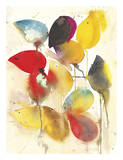 Leaves Falling I Affiches par Karin Johannesson