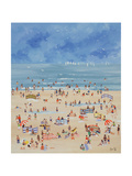 Beach Giclee Print by Judy Joel