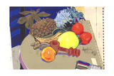 Pineapple and Nutcracker, 1980s Giclee Print by Hugh Bulley