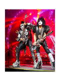 KISS - 40th Anniversary Tour Live - Simmons and Stanley Prints by  Epic Rights