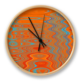 Reflections II Clock by Ricki Mountain