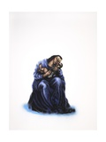 Virgin and Child, 2013 Giclee Print by Chris Gollon