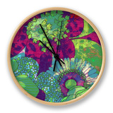 Oopsy Daisy II Clock by Ricki Mountain
