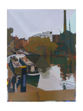 Hackney to Islington Giclee Print by Piers Ottey