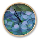 Hydrangea Mix I Clock by Ricki Mountain