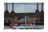 Battersea, 2011 Giclee Print by Piers Ottey