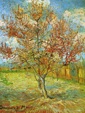 Vincent van Gogh - Pink Peach Tree in Blossom Reminiscence of Mauve Plakát