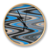 River Runs Deep I Clock by Ricki Mountain