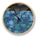 Hydrangea Mix II Clock by Ricki Mountain