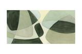 Verdigris Intersection II Premium Giclee Print by Renee W. Stramel