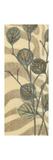 Leaves on Stripes I Premium Giclee Print by Norman Wyatt Jr.
