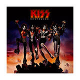 KISS - Destroyer (1976) Print by  Epic Rights