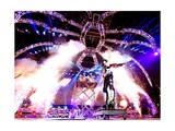 KISS - 40th Anniversary Tour Live - Stanley guitar swing Photo by  Epic Rights