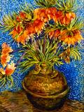Fritillaries Print by Vincent van Gogh