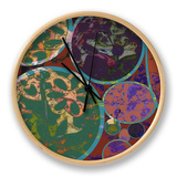 B-Jeweled Deco I Clock by Ricki Mountain