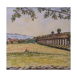 Aquaduct Giclee Print by Noel Paine