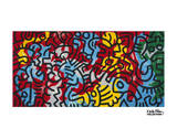 Untitled, 1985 (abstract) Láminas por Keith Haring