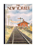 The New Yorker Cover - October 11, 1952 Premium Giclee Print by Perry Barlow