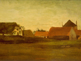 Farmhouses Prints by Vincent van Gogh