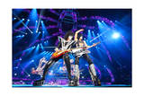 KISS - 40th Anniversary Tour Live - Stanley and Thayer Prints by  Epic Rights