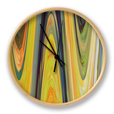 Transition I Clock by Ricki Mountain
