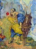 Vincent van Gogh - The Good Samaritan Obrazy