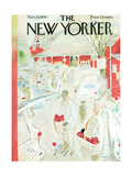 The New Yorker Cover - November 10, 1962 Premium Giclee Print by Garrett Price