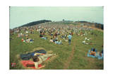 Woodstock- Panorama Behind the Crowd Poster by  Epic Rights