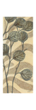 Leaves on Stripes II Premium Giclee Print by Norman Wyatt Jr.