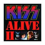 Epic Rights - KISS - Alive II (1977) Plakát