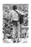 Woodstock- Into the Crowd (Black and White) Prints by  Epic Rights