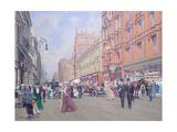 Buchanan Street in 1910' Giclee Print by William Ireland