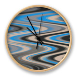 River Runs Deep II Clock by Ricki Mountain