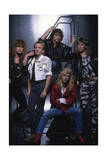 Def Leppard - Group Stairs 1987 Prints by  Epic Rights