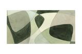 Verdigris Intersection I Premium Giclee Print by Renee W. Stramel