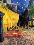 The Cafe Terrace on the Place Du Forum Arles at Night Prints by Vincent van Gogh